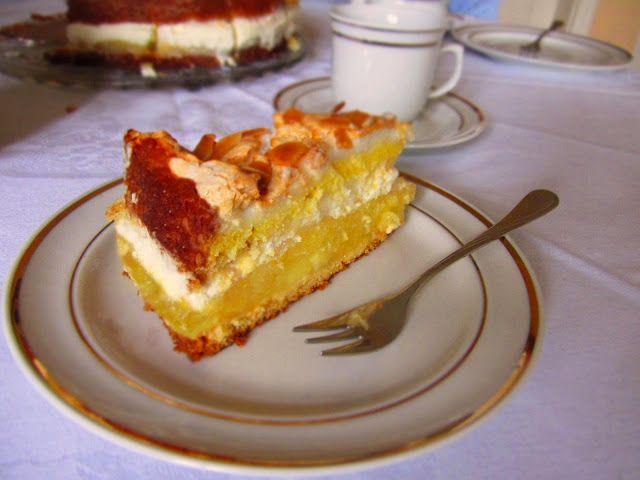 Ina Is(s)t: Kalte Tage im Sommer - Apfel-Baiser-Torte / Apple meringue pie