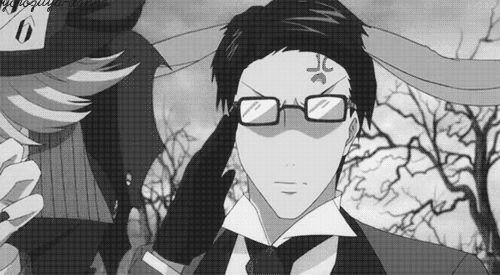 black butler undertaker gif   kuroshitsuji, black butler, undertaker, ciel in wonderland