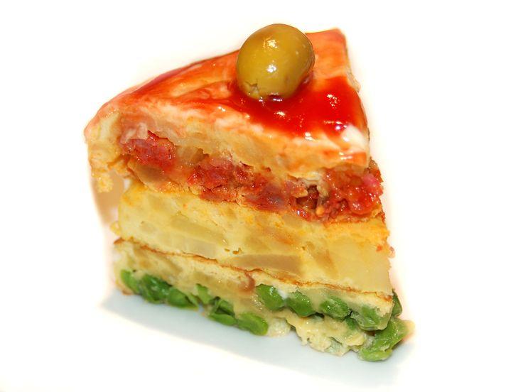 Spanish Omellette Pie