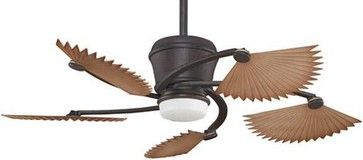 Fanimation SANDELLA: RUST MAD3260RS - asian - Ceiling Fans - Other Metro - Lighting and Locks