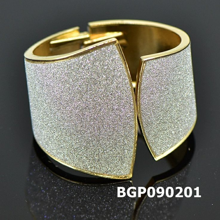 YGP EXQUISITE luxury wide sparkle Irregular bangle BGP090201  $10.00