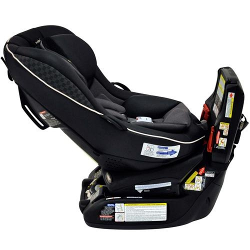 Combi Zeus Convertible Car Seat. Turns from front to rear facing without reinstalling. How great!