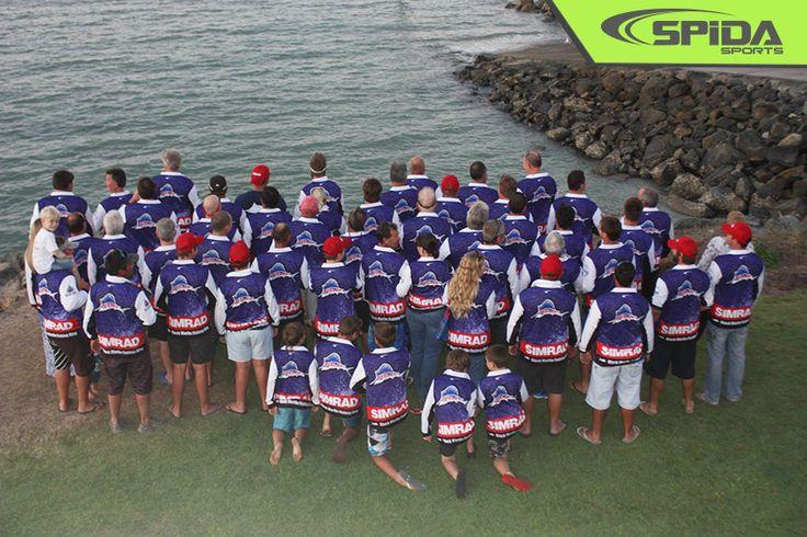 Whitsunday Game Fishing Club Shirts - http://spidasports.com.au/sublimated-fishing-shirts/