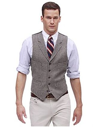 What about this vest for groomsmen, but different pants, tie, shirt