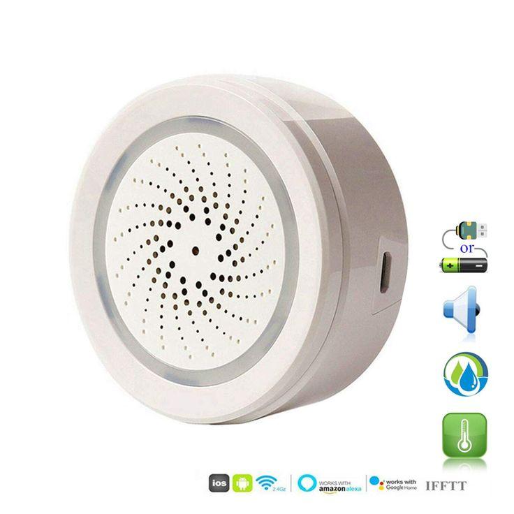 Smart WiFi Sensore di umidità della Temperatura Esterna ...