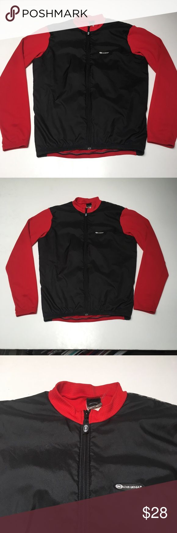 Vintage Louis Garneau Red Lined Bike Jersey Ride In excellent condition  Stay warm on your commute Zippers are all healthy  Please check measurements in pics for fit reference.     Smoke and pet free storage  Happy to answer any questions    Thanks for looking Louis Garneau Other