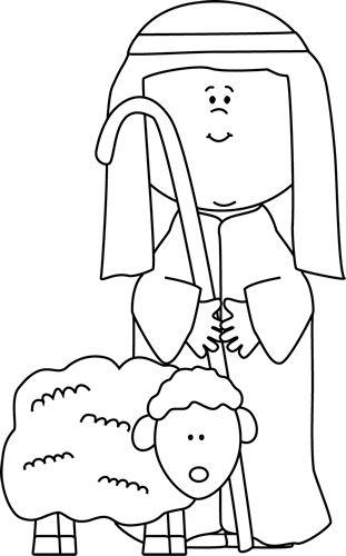 shepherd-with-sheep-black-white