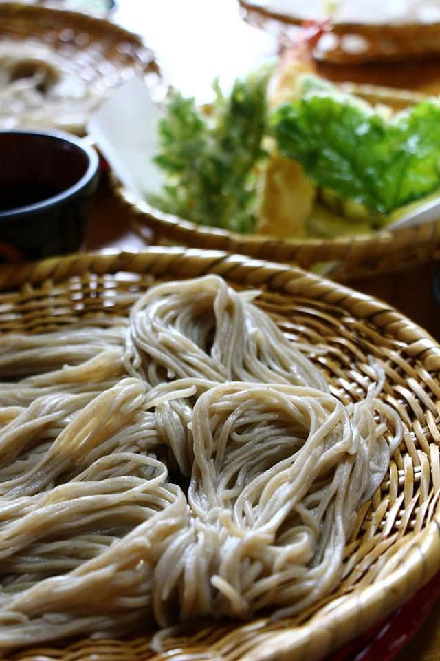 Mmm ... Soba noodles. Cold Soba noodles are a very refreshing dish during summer.