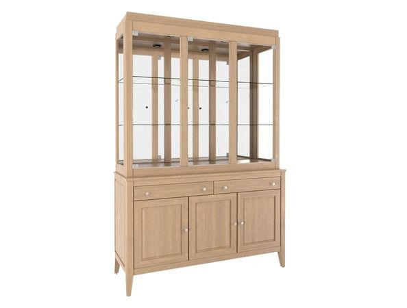 Niko - This beautiful china cabinet is the perfect blend of style and functionality -- not only does it look great but it provides the storage that...