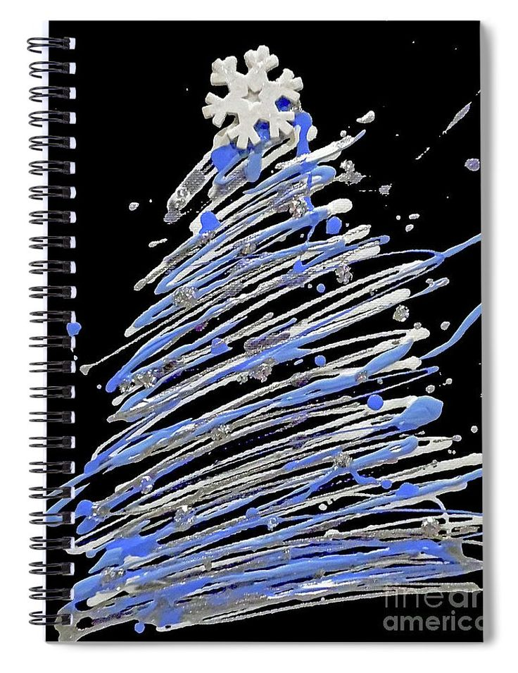 #ChristmasTree 6x8 #Notebook for Sale #ChristmasGifts #giftideas #snowflake