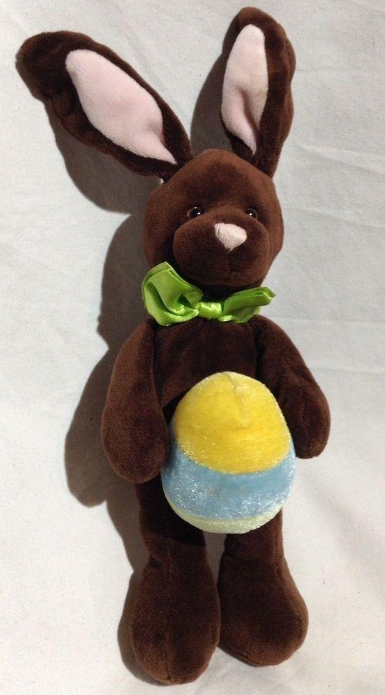 630efb01243f5 Gund velvet Bunny rabbit spring Flapadoodles  46137 bean Plush stuffed  animal  GUND