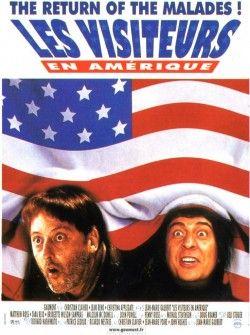 Couverture de Les Visiteurs en Amérique