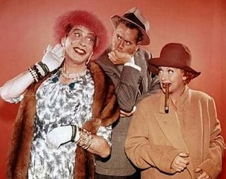 Milton Berle, Desi Arnaz, and Lucille Ball. Lucy/Desi Comedy Hour. This is one of mine and my mom's favorite episodes.