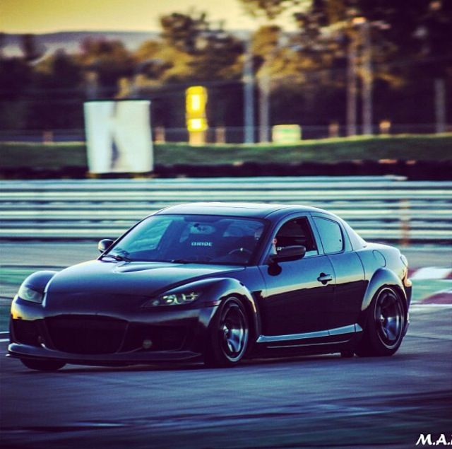 Lowered Mazda rx8 on xxr wheels ! Canada montreal marc ...