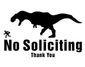 Finally, a sign that expresses how I feel about soliciting!
