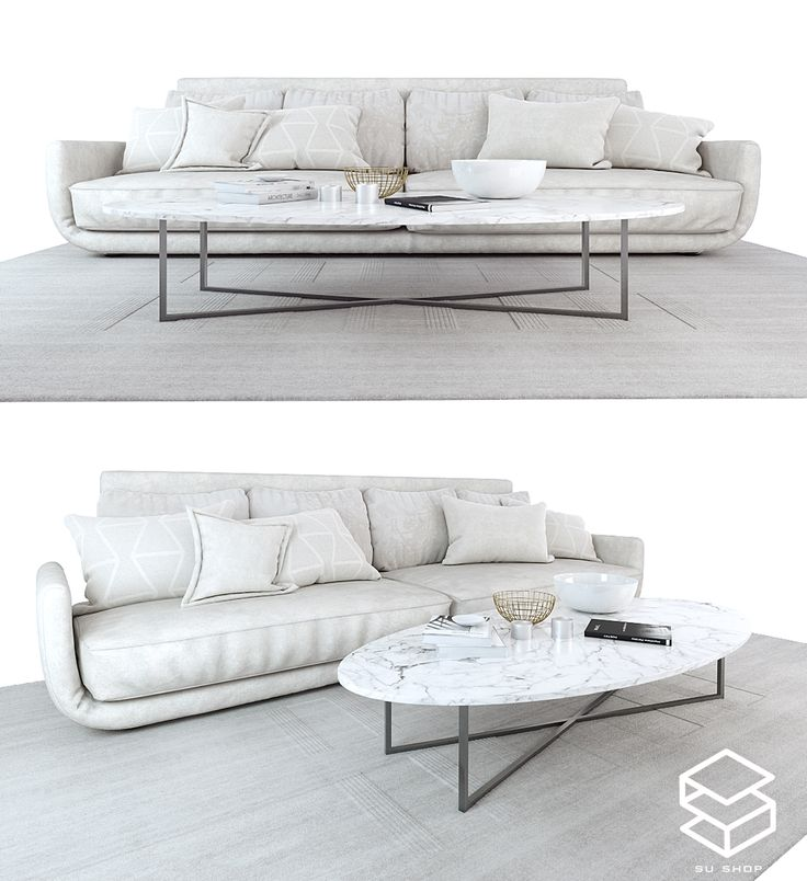 2556 Sofa Sketchup Model Free Download