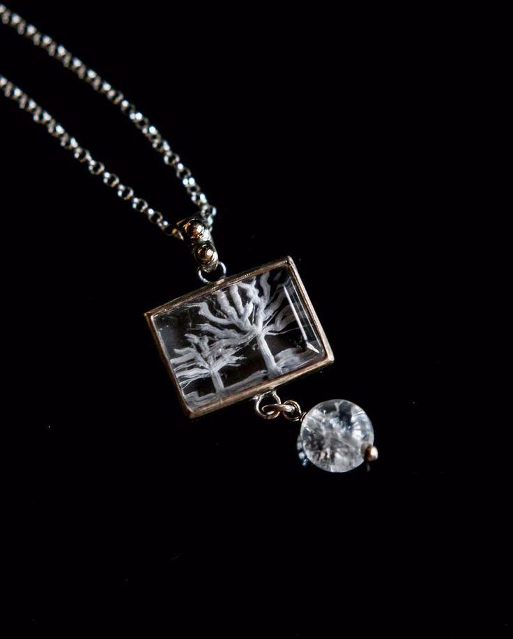tree of life, intaglio quartz, sterling silver pendant,Greek jewelry #Pendant