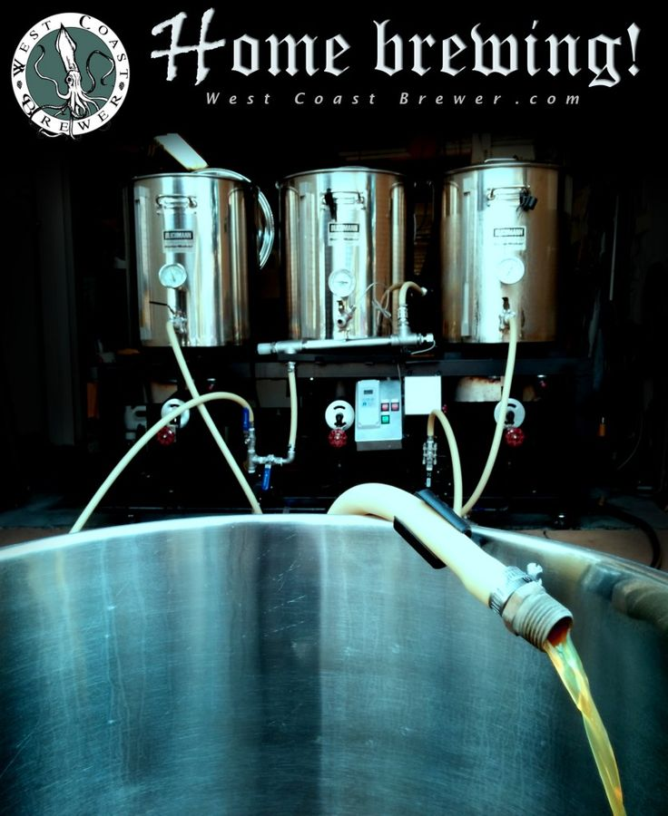 Brew beer at home!  http://www.westcoastbrewer.com