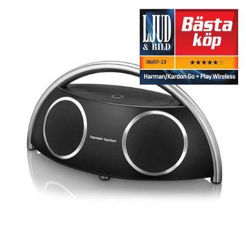 Harman Kardon Go   Play Wireless, bärbar högtalare - Svart - Hemelektronik
