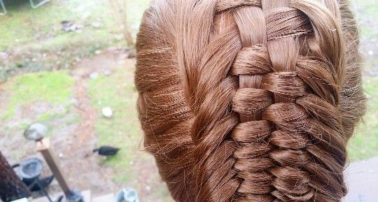Woven dutch braid