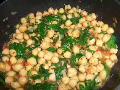 Ok, I promised the Bonefish recipe for this side dish. Chickpeas are low in fat and a helpful source of zinc, folate and protein. They are al...