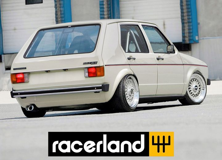 Síguenos | Join us on FB as Racerland. Link in Bio.  #VW #Volkswagen #MK1 #Rabbit #4doors #GLS #Golf #racerland