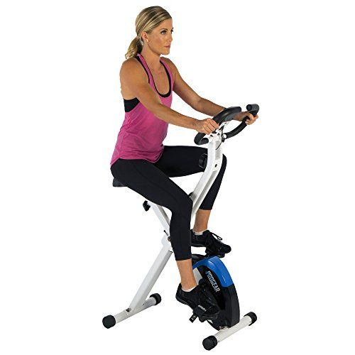 Indoor RECUMBENT EXERCISE BIKE Space Saver Home Fitness Cycling Pulse Equipment