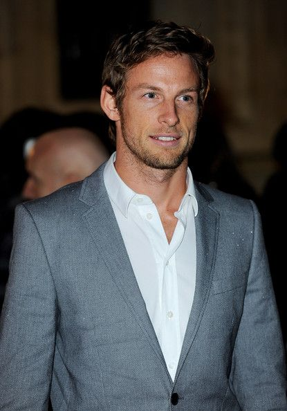 Jensen Button, fell in love with him on Top Gear!