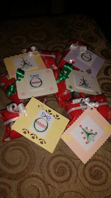 Christmas Sewn Gift Tags