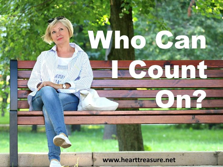Heart Treasure:  We can always count on God