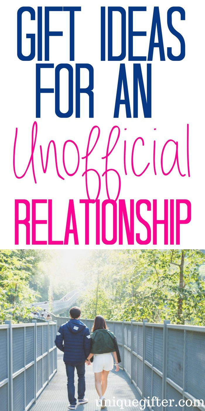 20 Gift Ideas for an Unofficial Relationship | valentine | Pinterest ...