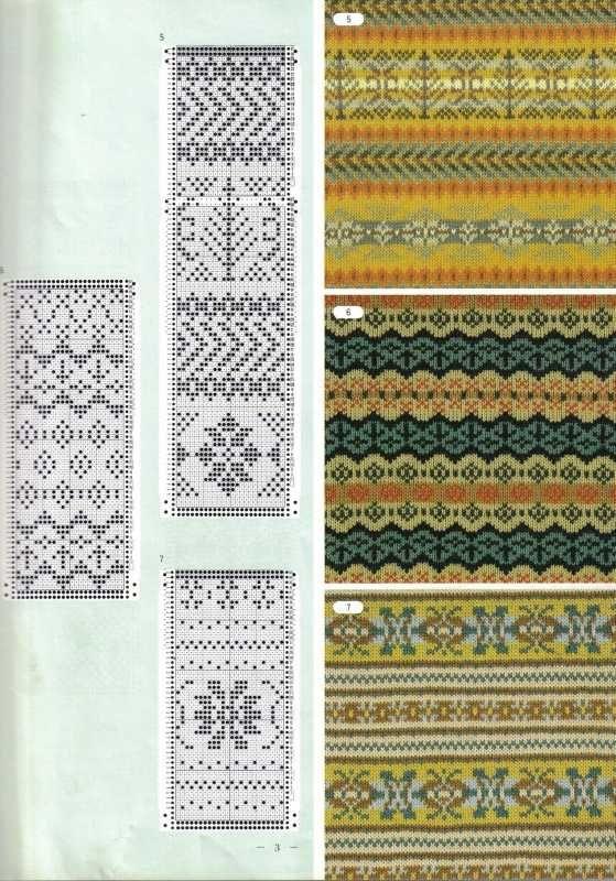 846 best knit fair isle or colorwork images on Pinterest | Fair ...