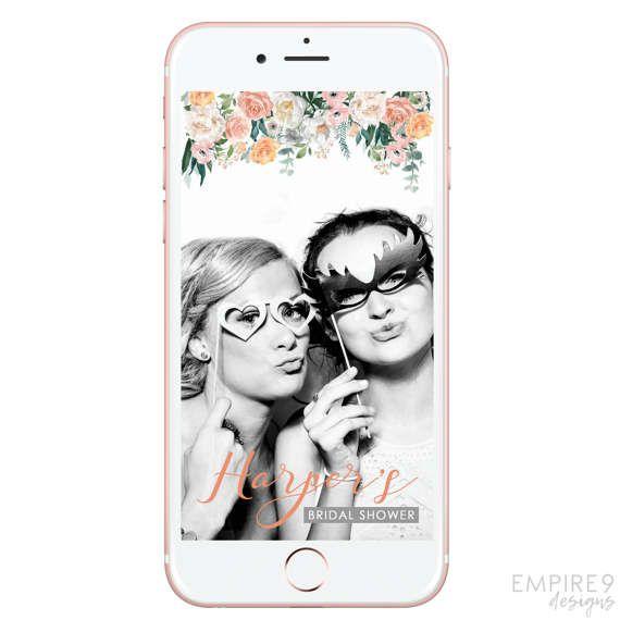 Snapchat Bridal Shower Bachelorette Party Snapchat Filter