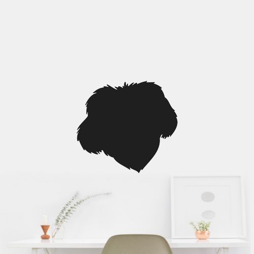 Chinese Imperial Dog Puppy Dog Puppy Breed Silhouette Wall Car Vinyl Decal Sticker