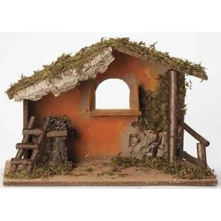 "Roman Fontanini 7.5"" Italian Religious Christmas Nativity Stable #50841 at Sears.com"