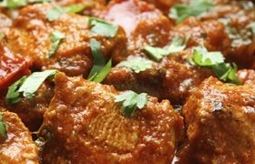 """Chicken Curry: simple recipe, but deep flavors. Definitely a """"make-again""""!"""