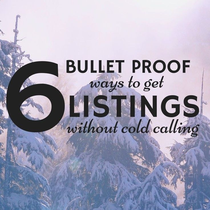 Need More Real Estate Listings But Donu0027t Want To Cold Call? Here Are