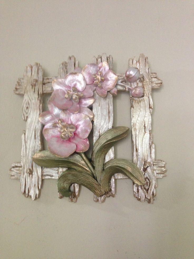 seda güler polyester boyama orkidelerim