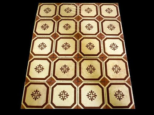 Old art nouveau spanish floor tiles,we have large quantity in stock,more info here : www.luxurystyle.es