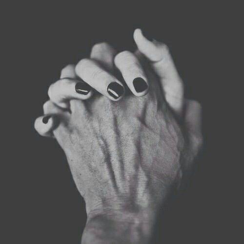 Te amo y las manos..