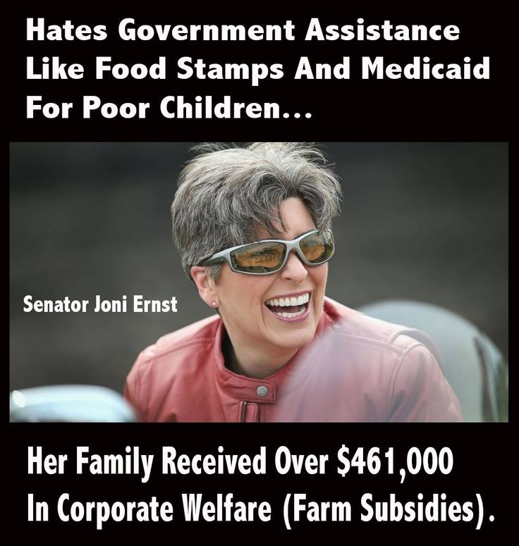 "Farm Subsidies are a form of ""welfare""."