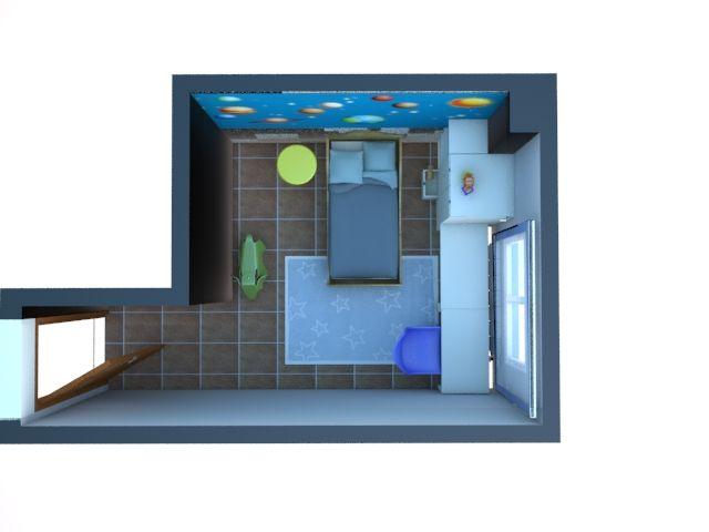 Proyecto dormitorio Marcos | Estudio Lota