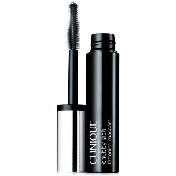 Clinique Chubby Lash Fattening Mascara 0.4 oz ($17) ❤ liked on Polyvore featuring beauty products, makeup, eye makeup, mascara, eyes, beauty, jumbo jet, clinique mascara, clinique and volumizing mascara