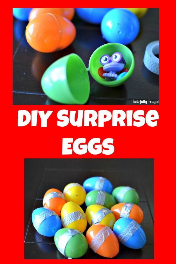 Do your kids love watching Kinder Surprise Eggs videos on YouTube? Then you will love this quick, easy tutorial on how to make your own for FREE