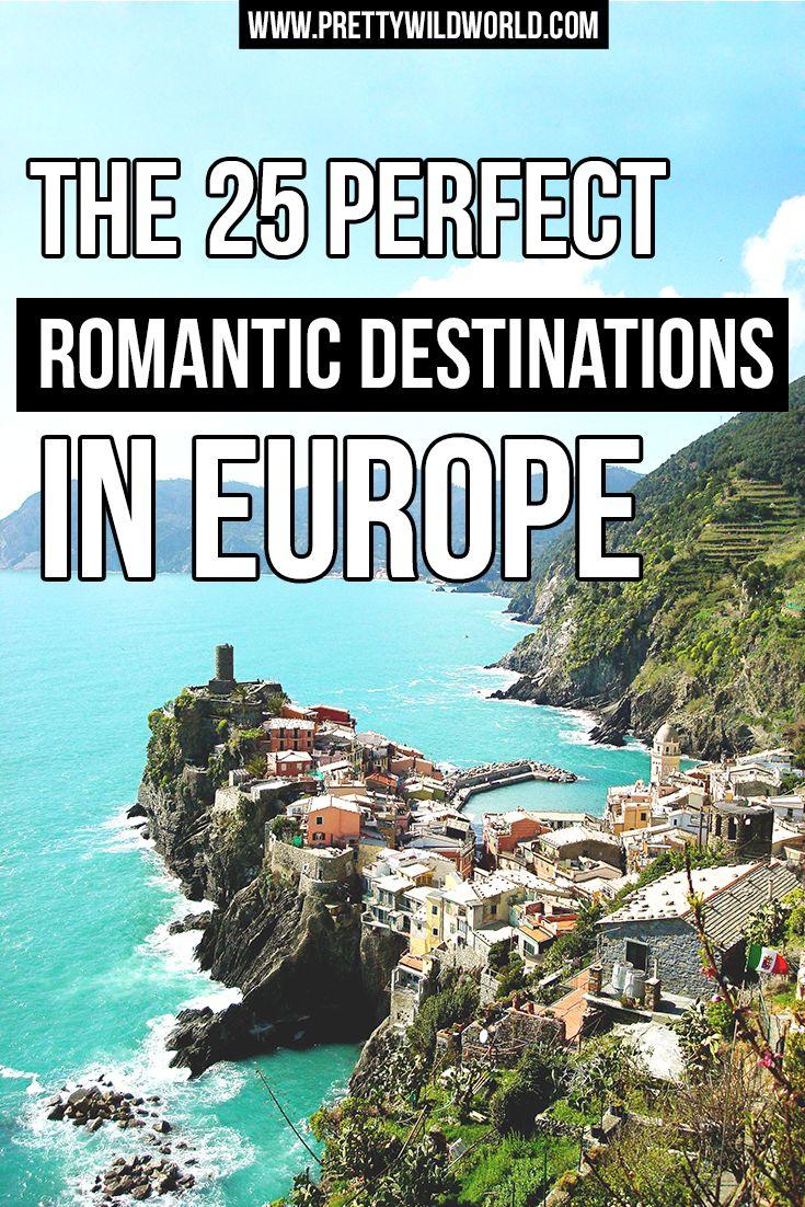 Romantic Cities | Europe Destination | Paris France | Cinque Terre Italy | Porto Portugal | Vienna Austria | Reykjavik Iceland | Granada Spain