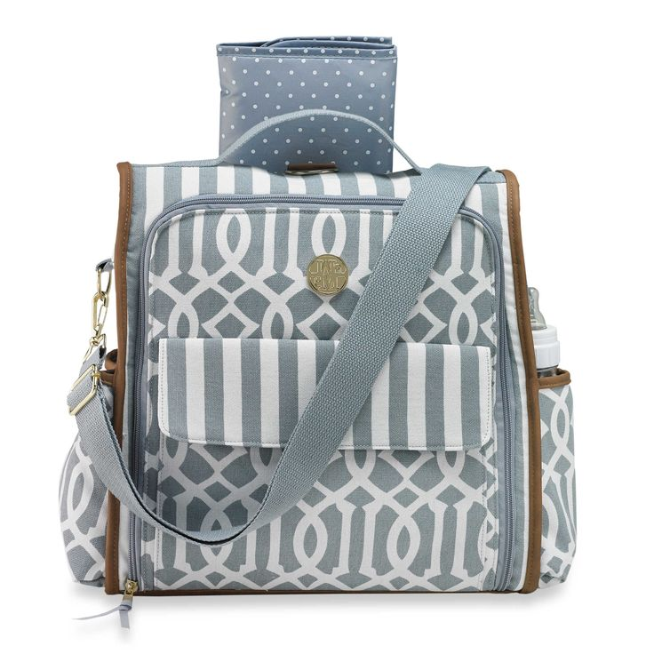 Mud Pie® Bundle of Joy Diaper Bag in Grey