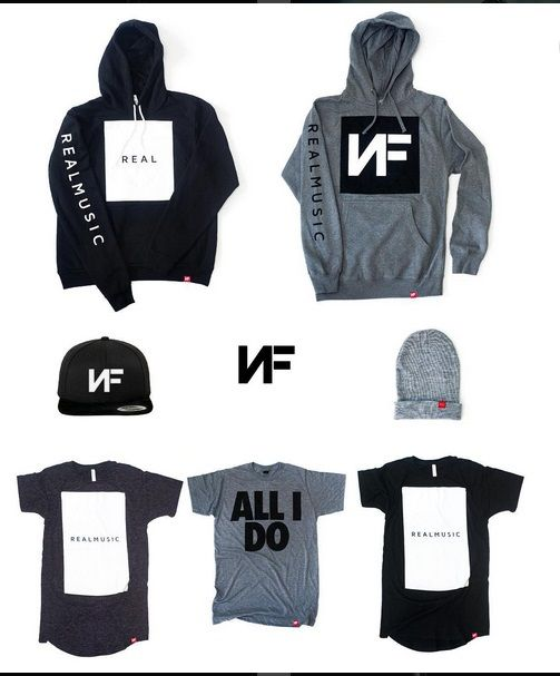NEW NF MERCH IS NOW AVAILABLE ONLINE FOR PRE ORDER!!! https://nfrealmusic.myshopify.com #NFrealmusic #NF