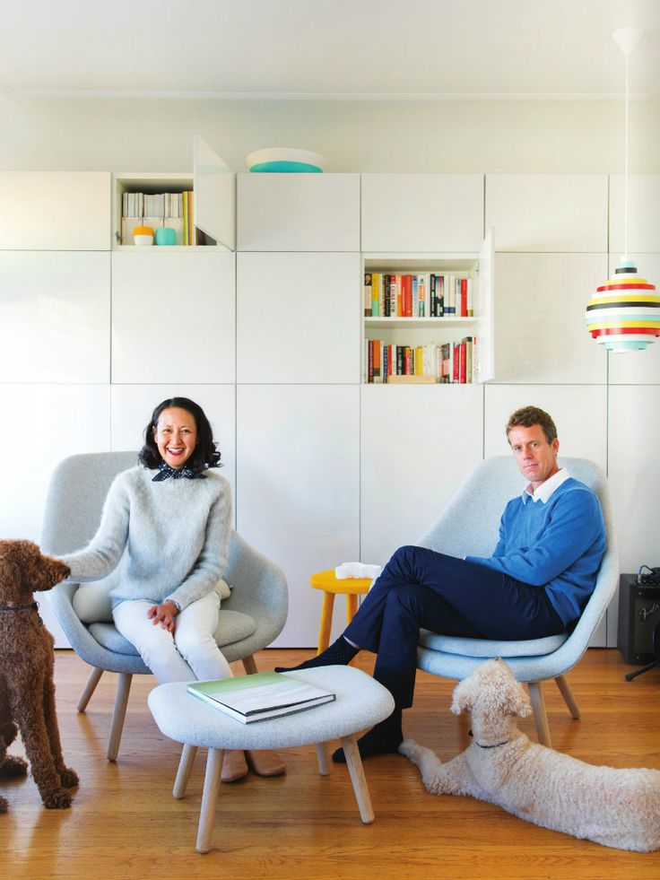 Anthology Magazine - Winter Issue 2015 - Calming Influence - At home with Tina & Jochen Frey - San Francisco