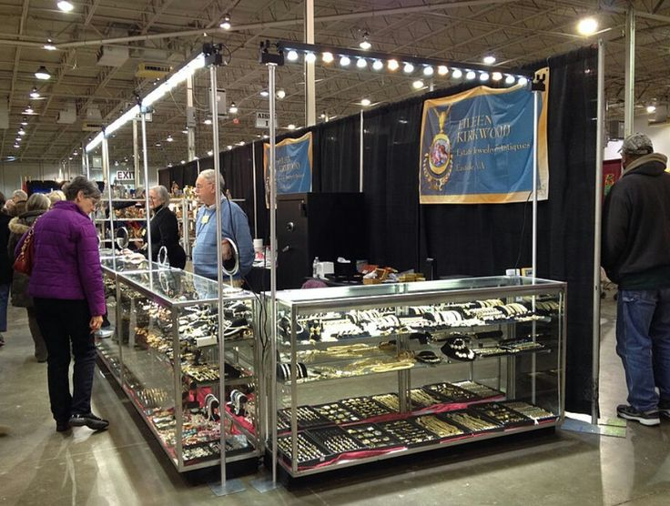 Trade Jewellery Stands : Best images about trade show led light on pinterest