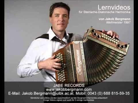 Weltmeister Potpourri Jakob Bergmann auf der Steirischen Harmonika - YouTube